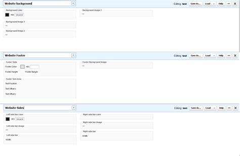 Theme Editor Enjin | enjin theme editor help