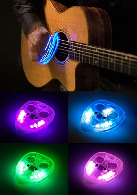 Guitar Picks That Light Up Isnt Hat To Me