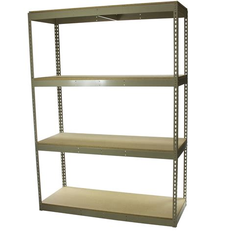 Shelf Depth by 18 Quot Depth Rivet Shelving
