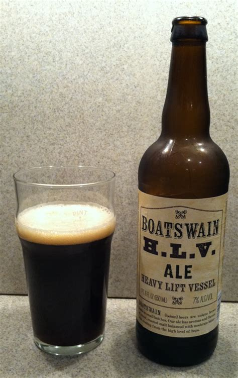 boatswain beer hlv 365 beers and 50 pounds day 360 dec 26 boatswain h l v