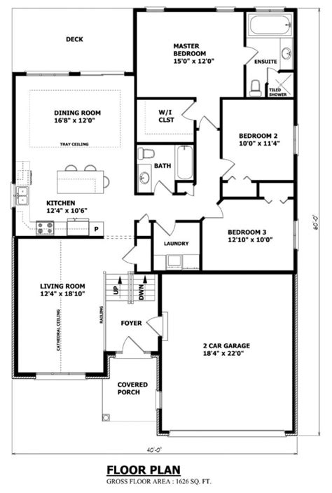 Small Home Floor Plans Canada Home Design Canadian Home Designs Custom House Plans