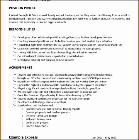 11 description statement template sletemplatess