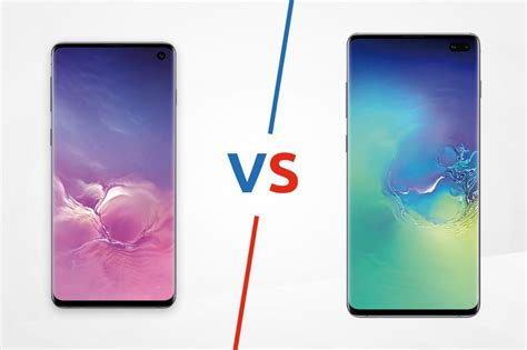 samsung galaxy s10 vs galaxy s10 plus the complete verdict