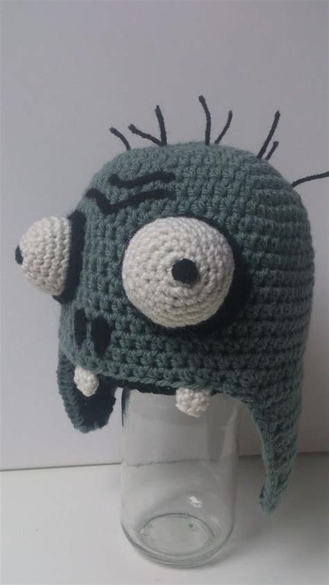 crochet pattern zombie crochet plants vs zombies zombie hat pattern soon