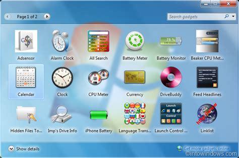 20 handy gadgets for your windows 7 desktop