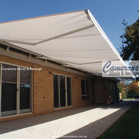collapsible awning camerons blinds awnings folding arm awnings