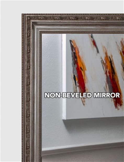 Custom Size Mirrors Bathrooms | mal 0576 gold silver framed mirror large mirror