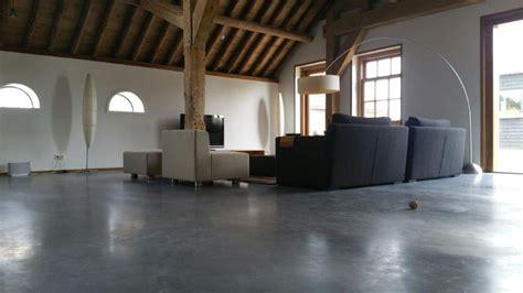 betonvloer in huis betonvloer binnen betonreform
