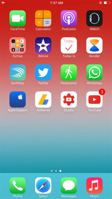 iphone 5s home screen macrumors forums