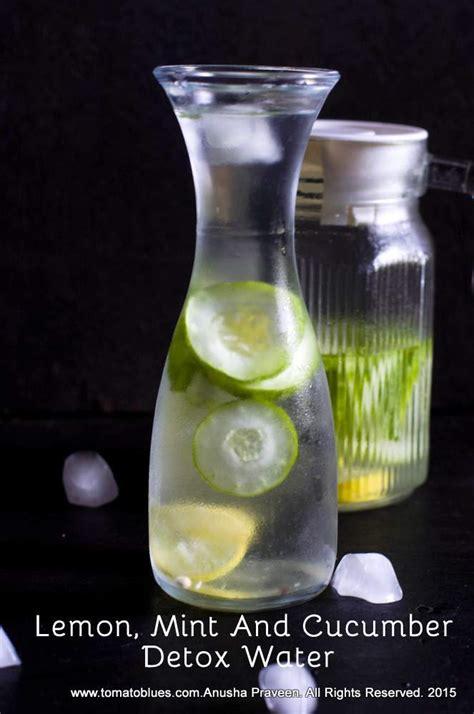 Lemon Orange Mint Cucumber Detox Water by Lemon Mint And Cucumber Detox Water