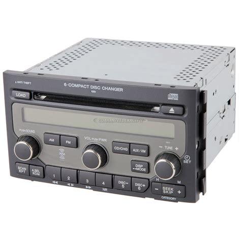 honda pilot radio  cd player  fm xm cd radio  face code bv  bv oem