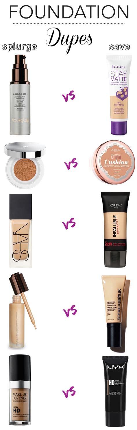 best light coverage drugstore foundation splurge vs save 10 amazing foundation dupes foundation