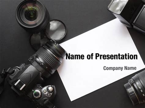digital photo camera powerpoint templates digital photo