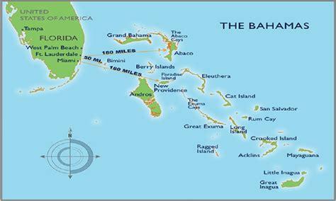 map usa bahamas 19 migrants feared drowned bahamas carib