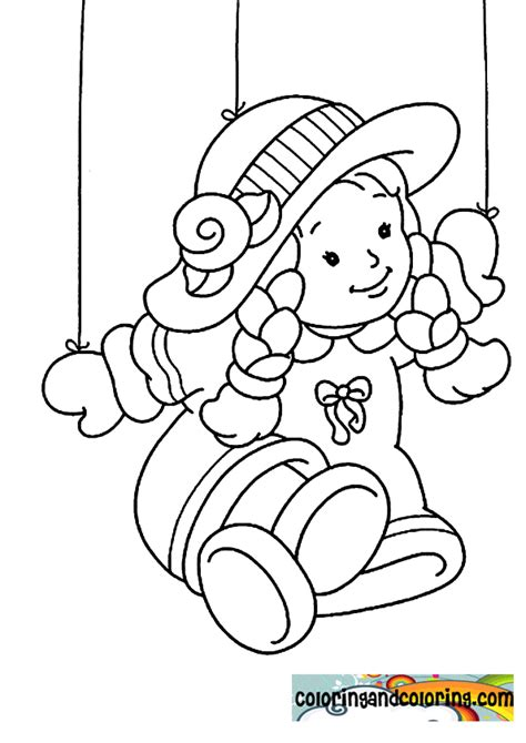 free coloring pages of puppet