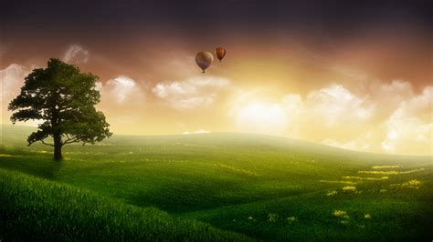 nature balloon ride wallpapers hd wallpapers id