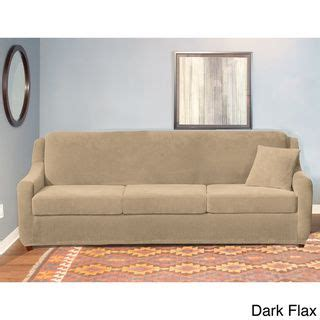 sure fit sleeper sofa slipcover sure fit stretch pearson 3 cushion sleeper sofa slipcover