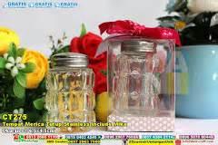 Souvenir Pernikahan Asbak Stainless Murah tempat make up bahan plastik pegangan bulat stainless