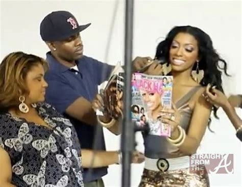pictures of porsha stewart without weave porsha stewart s weave lands hair care photo shoot is