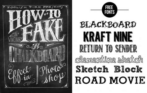 chalk typography tutorial photoshop chalk talk 187 graphic sugar blog site