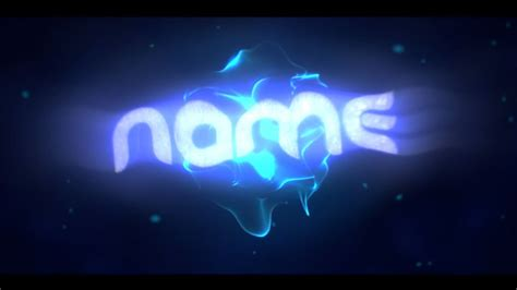 Intro Template Blender Blender Intro Template 16 Topfreeintro Com