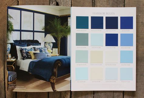 beautiful Ralph Lauren Paint Home Depot #2: paint-chips-of-ralph-lauren-paint-lifestyle-harbour-blues.jpg