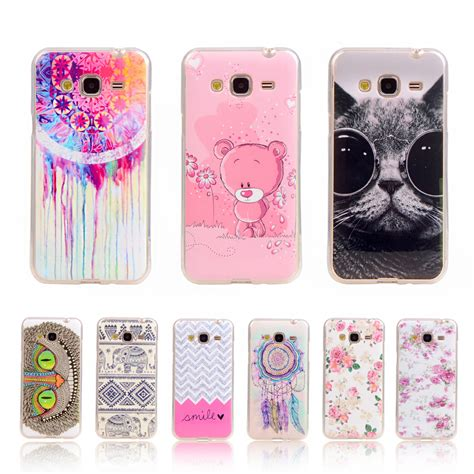 Soft Samsung J3 Sillicon Batik Flower Swarovsky J3 2015 for samsung j3 soft plastic gel for samsung galaxy j3 2016 j3000 j320 j3109 owl