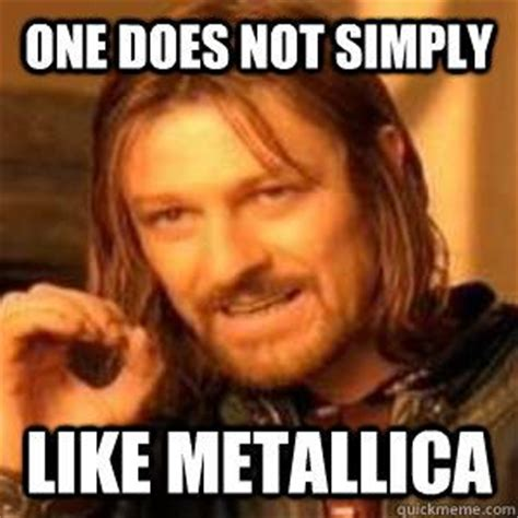 Metallica Memes - metallica full of and hilarious on pinterest