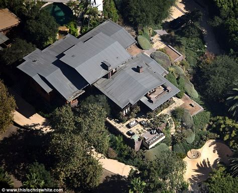 angelina jolie s new home beverly hills magazine anarchy at brad pitt and angelina jolie s home daily