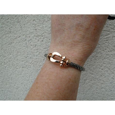 Bracelet Fred Force 10 Rose Acier réf. A78466   Instant Luxe