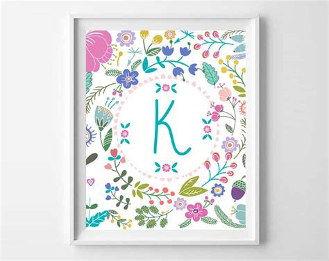 printable nursery letters free printable art baby girl gift idea
