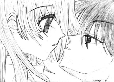 Anime Boy And Girl By Swantje95 Animelover On Deviantart Boy And Anime Drawing