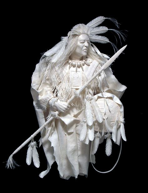 How To Make Paper Statues - make it and mend it paper sculpture
