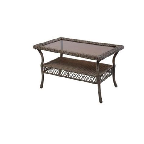 home depot outdoor coffee table hton bay grey patio coffee table 65 20305