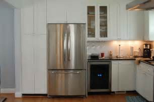 kitchen aid cabinets kitchenaid refrigerator few tips to make your kitchen functional homydesigns