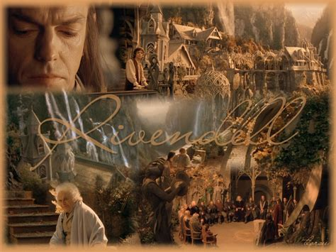 Lotr Home Decor rivendell lord of the rings wallpaper 3867963 fanpop