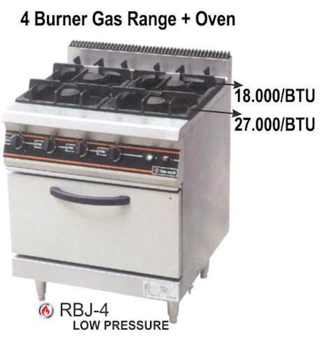 Tungku Stock Pot gas open burner mesin raya