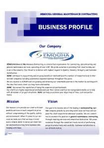 construction company profile template slideshare ebook