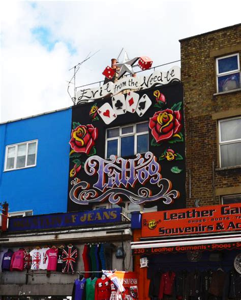 tattoo parlour camden the unique shop fronts of camden town