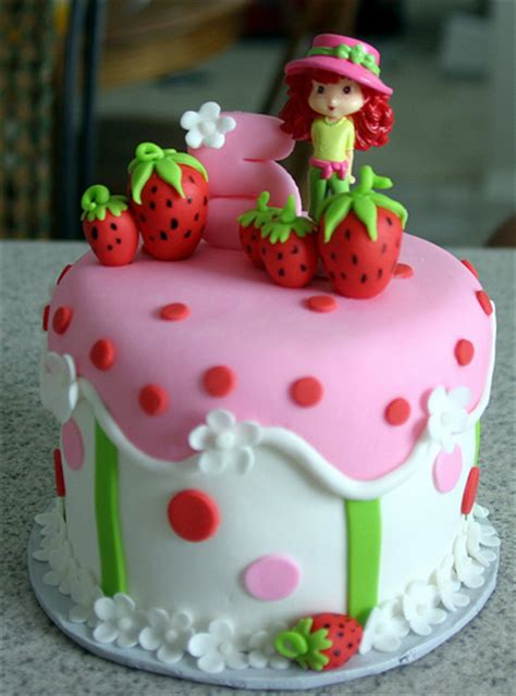 Strawberry Shortcake Birthday Decorations Strawberry Shortcake Cake Strawberry Shortcake Cake
