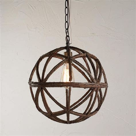twig sphere chandelier or pendant light available in 2