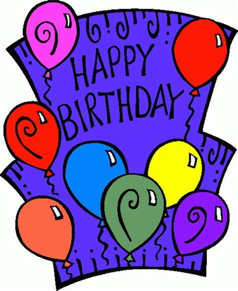Animated Free Birthday Clip Art » Home Design 2017