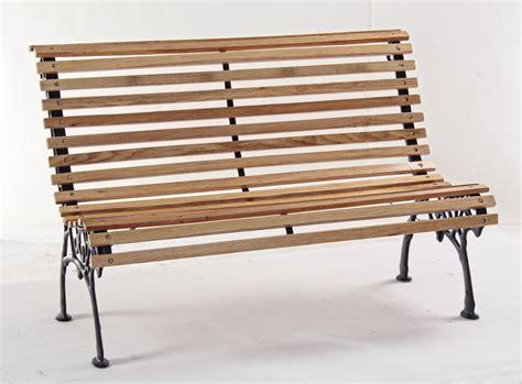 panchina ghisa e legno panchina fiordaliso legno struttura ghisa da giardino