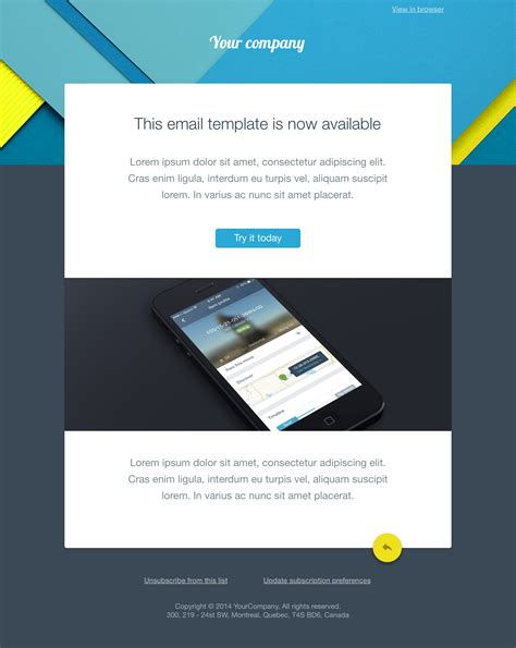 free html email template free email templates sketch resource for sketch image zoom