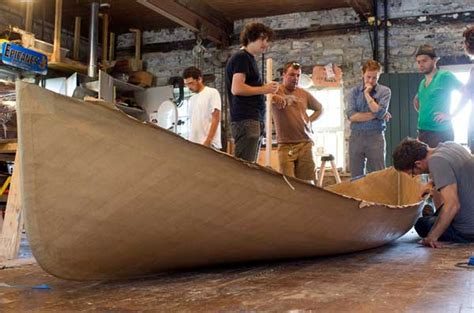 How To Make A Paper Mache Boat - the st in a paper boat ncpr news