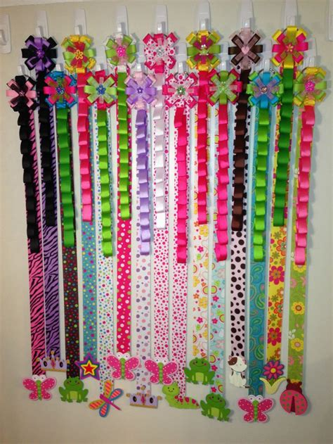 How To Make A Hanger Holder - best 20 hair bow holders ideas on bow holders