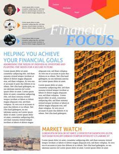 financial newsletter templates newsletter formats assisted living facility newsletter