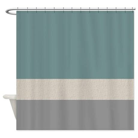teal colored shower curtains teal color bands shower curtain by jqdesigns