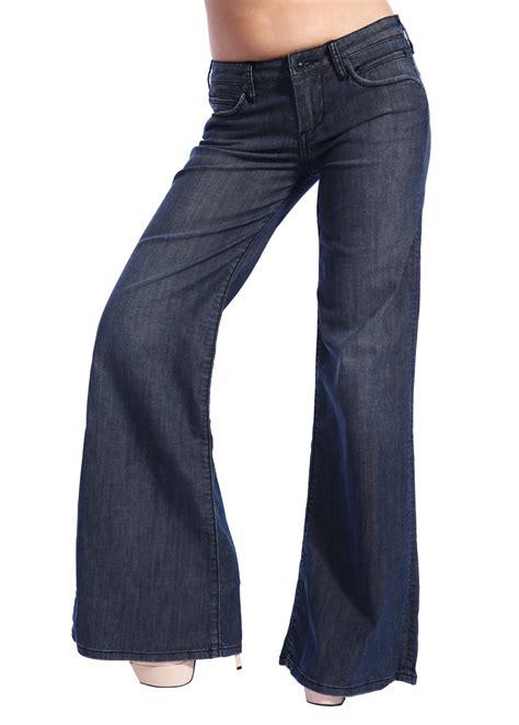 Wakai Blue Denim 39 43 stitch s designer denim trousers flared