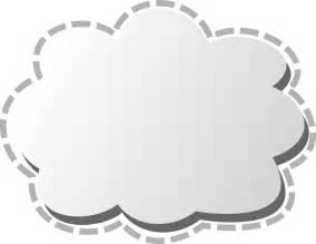 cloud picture frame free storage server cloud logo clipart illustration